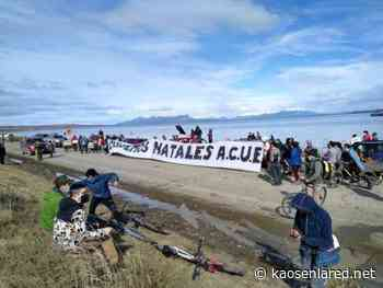 Chile. Realizan masiva manifestación contra megaplanta salmonera en Puerto Natales - kaosenlared.net