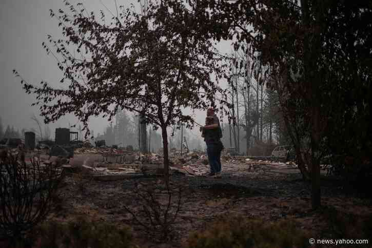 'There are just no words': Oregon family returns home to find pile of ash