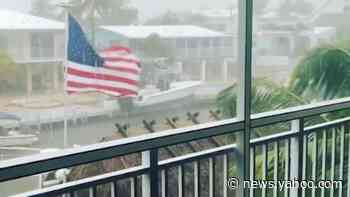 Tropical Depression 19 hits the Florida Keys