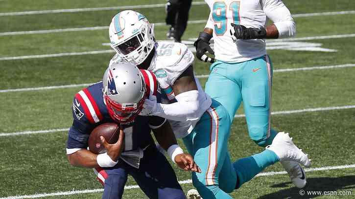 Cam Newton leads run-heavy New England Patriots to opening win - ESPN