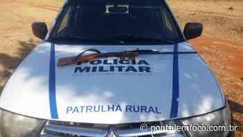 Polícia Militar apreende arma de fogo durante operação em Campina Verde - Pontal Emfoco