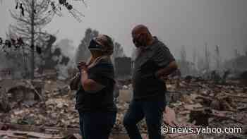 US West Coast fires: Wind warning prompts fears of further spread