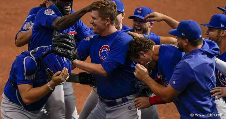 Cubs' Mills throws MLB's 2nd no-hitter in 12-0 win over Brewers