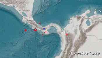 Instituto de Geociencias registra sismo de 4.5 grados en Puerto Armuelles - TVN Noticias