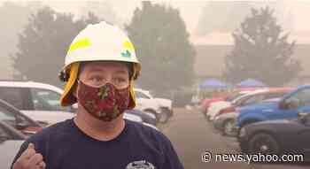 Oregon fire chief and crew lose homes, station as they battle Holiday Farm Fire
