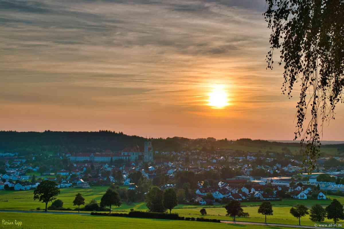 Ottobeuren in der Abendsonne - all-in.de - Das Allgäu Online!
