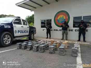 Decomisan 165 paquetes de presunta droga en Río Hato - El Siglo Panamá