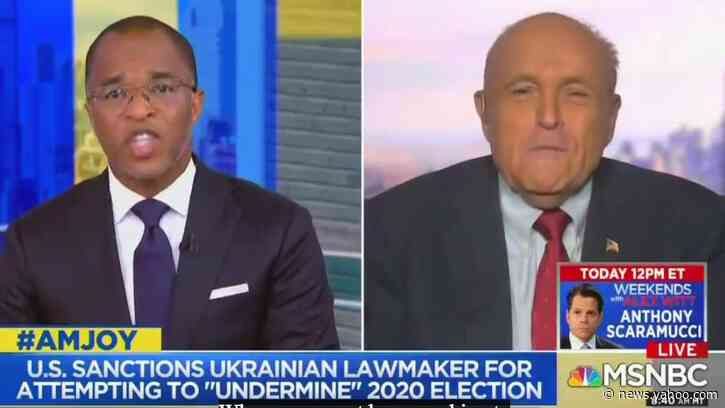 Giuliani Claims He Had No Idea His Ukraine Pal Andriy Derkach Was a Russian Agent
