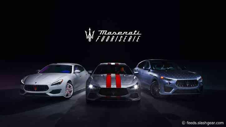 Maserati launches Fuoriserie personalization program for Ghibli, Quattroporte, and Levante