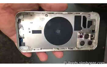 iPhone 12 Pro chassis leak suggests LIDAR inclusion
