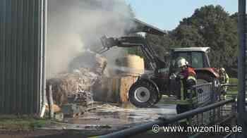 Feuer In Uplengen: Maschinen- und Lagerhalle abgebrannt - Nordwest-Zeitung