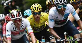 Tour de France: Roglic und Co. demütigen Bernal in den Bergen - FOCUS Online