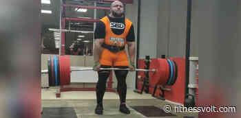 Ivan Makarov Pulls 490 kg Deadlift In Preparation For World Record - FitnessVolt.com