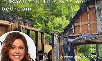 Rachael Ray shares devastating footage showing her bedroom and bathroom gutted by fire