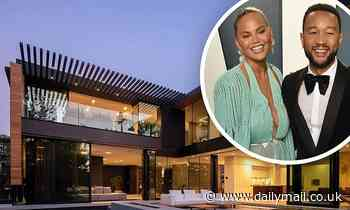 John Legend and Chrissy Teigen lease $16m Beverly Hills mansion