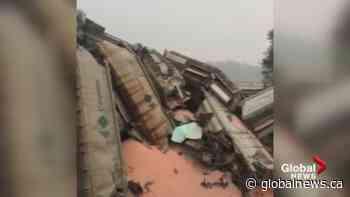 CN confirms train carrying potash derails near Hope