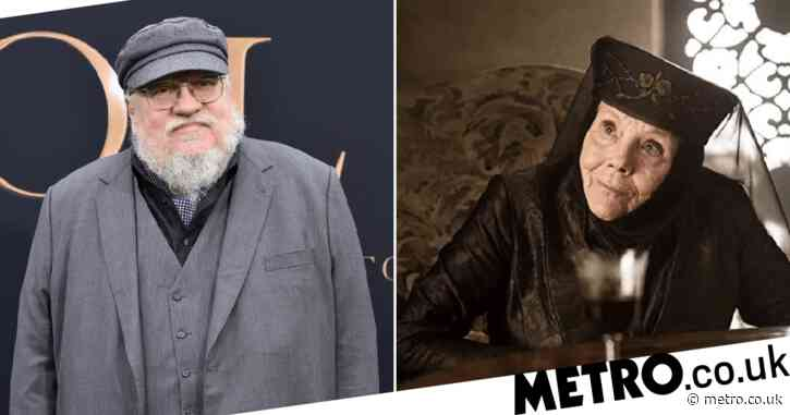 Game of Thrones creator George RR Martin pays tribute to 'titan' Dame Diana Rigg