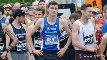 Justin Kent sets B.C. course record to qualify for World Half Marathon Championships