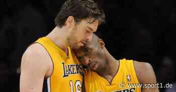 NBA: Pau Gasol nennt Tochter Gianna nach verstorbenem Kind von Kobe Bryant - SPORT1
