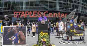 Kobe Bryant: Lakers-Legende bekommt Straßennamen - LeBron emotional - SPORT1