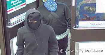 Police release images of Prospect Heights armed robbery suspects