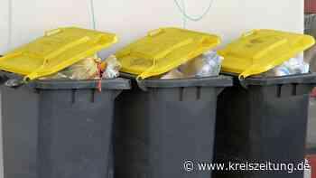 Gelbe Tonne wird im Landkreis verteilt - kreiszeitung.de