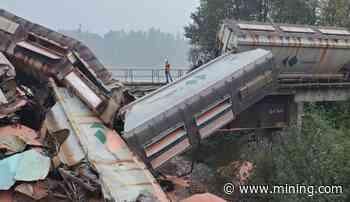 Train carrying potash derails near Hope, British Columbia - MINING.com