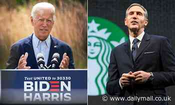 Ex-Starbucks CEO Howard Schultz endorses Joe Biden