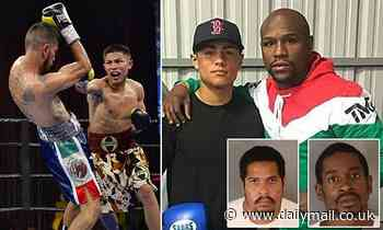 California police arrest two suspects for the murder of Floyd Mayweather's pupil Danny Gonzalez