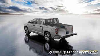 Rivian R1T, solar tonneau, Hyundai Nexo availability, pandemic fast-charging: Today's Car News - Green Car Reports