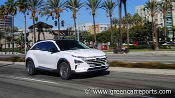 Hyundai expanding Nexo hydrogen fuel-cell availability in California—by one dealership - Green Car Reports