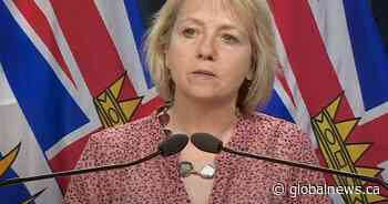 B.C. reports 317 new COVID-19 cases and six new deaths over three days