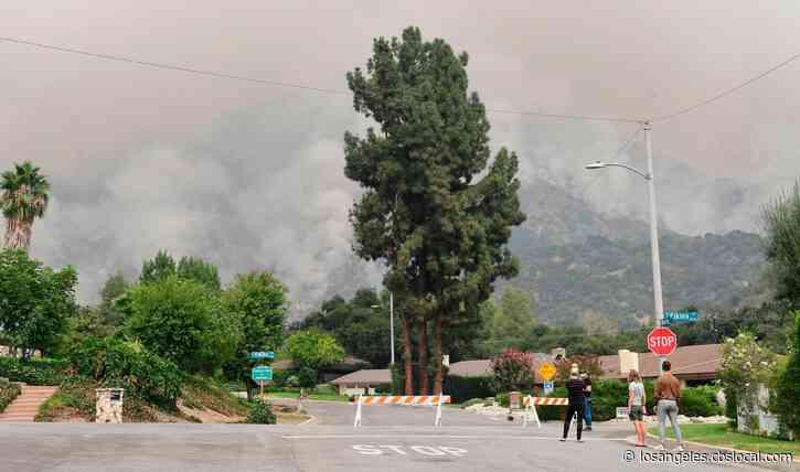 Bobcat Fire Smoke, Evacuations Force Santa Anita Park To Postpone Its Opening Day