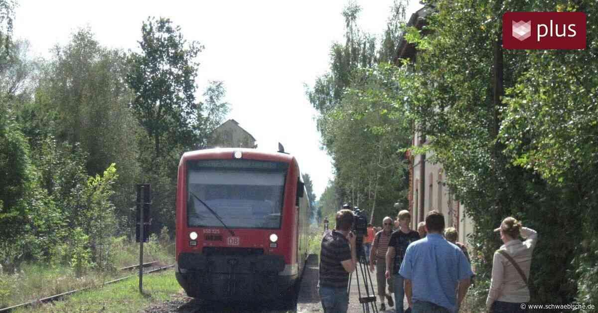 Seit zehn Jahren ist Ostrach wieder ans Bahnnetz angeschlossen - Schwäbische