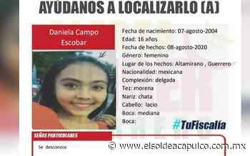 Activan Alerta Amber por desaparición de menor de edad en Ciudad Altamirano - El Sol de Acapulco