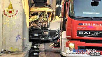 Terrificante schianto sulla Transpolesana: morto camionista bresciano - BresciaToday