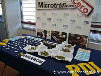 Concepción: capturan dos personas por microtráfico de marihuana y cocaína en Villa Esperanza - Diario Concepción