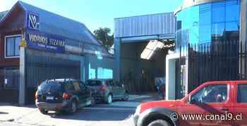 Robo en local de Concepción: Hubo daños pero no accedieron a caja de seguridad - Canal 9 Bío Bío Televisión