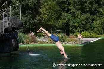 Der Sommer ist zurück: Freibad Deuz noch bis 21. September geöffnet - Siegener Zeitung