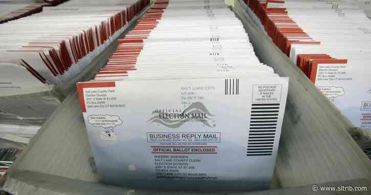 Postal Service sends wrong info about Utah by-mail voting