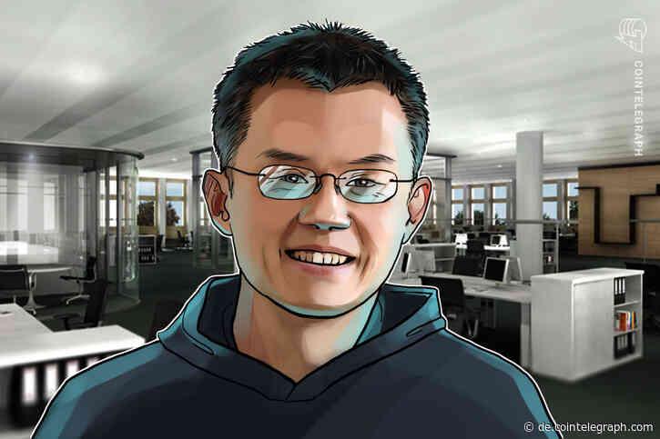 Binance-CEO will mehr Ethereum-DeFi-Projekte auf seiner Plattform - Cointelegraph Deutschland