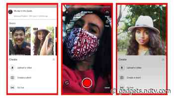 YouTube Shorts, Yet Another TikTok Competitor, Launched in India in Early Beta - Gadgets 360