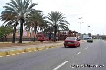 Calles poco concurridas este lunes en Ciudad Guayana - primicia.com.ve