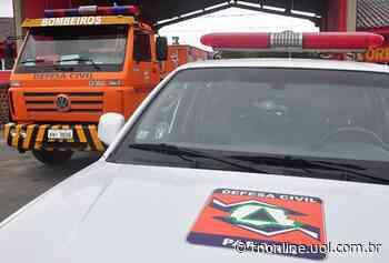 Caminhão Scania pega fogo em estrada de Faxinal - TNOnline - TNOnline