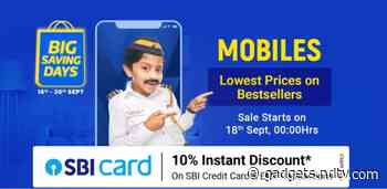 Flipkart Big Saving Days Sale Mobile Deals Previewed: Rs. 15,000 Price Cut on LG G8X, More Top Offers