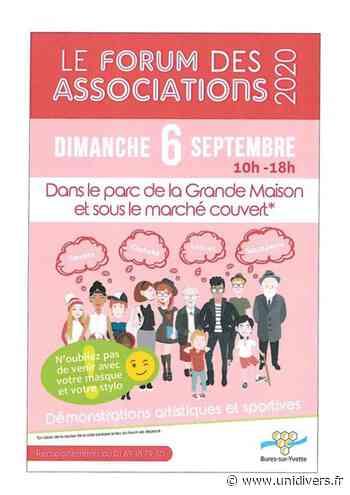 Forum des associations de la mairie de Bures-sur-Yvette Parc de la grande maison dimanche 6 septembre 2020 - Unidivers