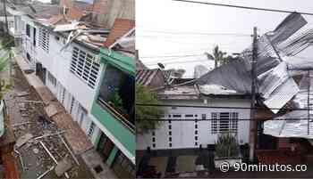 Autoridades evalúan daños que dejó el vendaval ocurrido este domingo en Zarzal - 90 Minutos