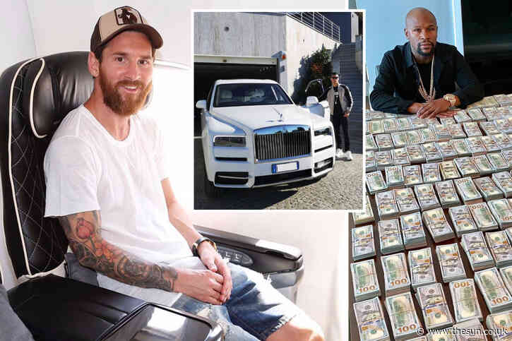 Inside sport's exclusive billionaire club as Messi joins Ronaldo, Floyd Mayweather, Tiger Woods and Michael Jordan