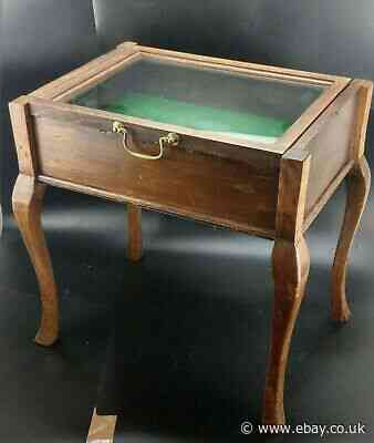 Glass Case Coffee Table / Side Table 19th Century