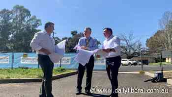Member for Dubbo Dugald Saunders talks about funding for the HEArt of Mudgee - Daily Liberal